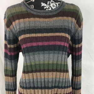Christopher & Banks crew neck sweater sz L